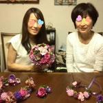 紫花冠、ヘッドドレス