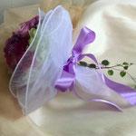 2次会 友人からサプライズプレゼント ブーケ風花束
