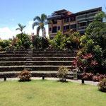Amphitheater im Fort - entdeckt bei der 1.Mai Fahrradtour