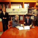 MoU wird unterschrieben