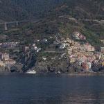 Riomaggiore, tout petit port