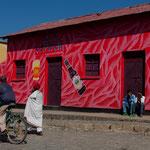 Dans les rues d'Axum au nord de l'ETHIOPIE