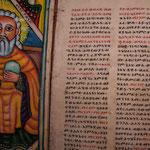 Ecriture amarhique (celle du pays) . L'amarhique, langue officielle, est une très belle langue mélodieuse