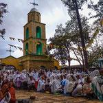 A l'est de Addis : Harar, ville musulmane, cérémonie orthodoxe