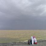 Sur les bords du Lac Langano