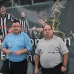 Schiedsrichterteam Christoph Bergling und Rainer Leischner