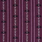 Edelweisstoff Baumwolle Barchent edel Violett