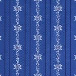 Edelweisstoff Baumwolle Barchent Enzianblau