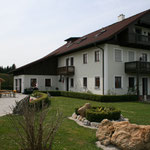 Das Haus von Familie Sieberer in Stötten bei Gampern