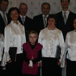 Nina Feichtlbauer mit Sabine Eingang, Diana Pühringer, Christine Kowald und Maria Schachner (v.l.n.r.)