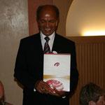 Johann Sieberer mit unserem Silber Diplom kurz nach der Siegerehrung