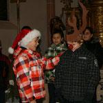 ...und hier der Weihnachtsmann.
