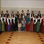 Der Stötten-Chor mit Familie Feichtlbauer