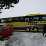 Das Liezener Stadtmarketing hat uns freundlicherweise einen Bus spendiert...