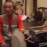 2009年ケグリ・朝鮮農楽教室にて