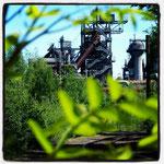 Blick auf den Industriepark Duisburg-Nord