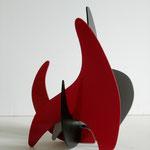 """O.T."" 28 x 25 x 21 cm, 2009, Holz, Lack"