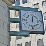 View of Corner Clock at 10th and O street