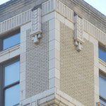 View of Architectural Details at roof-line