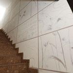 Calce graffita; Fiumicino, 2009