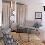 Rome - a mix of midcentury vintage, ethnic, art-design