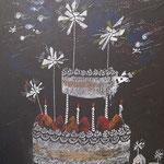 ケーキの上の小宇宙