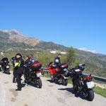 Motorradfreizeit Andalusien 2014
