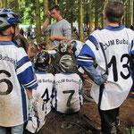 Jungenjungschar bei der Fahrradrallye