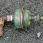 FM弁の腐食により固着しタンクへの給水が止まらなくなっていました。