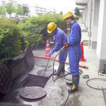 排水管高圧洗浄はこちら!