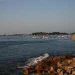 Les bateaux à Port-Blanc Bretagne