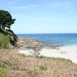 La côte de granit rose Bretagne