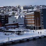Tromsö vom Schiffsdeck