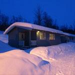 Die Unterkunft im Camp Sollia