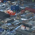 Bau des neuen Flughafens in Oslo.