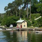 Wunderbare Häuser, man könnte meinen man sieht in einen Film von Inga Lindström.