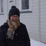Es ist wieder bissig kalt.