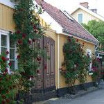 Malerische Häuser.