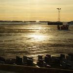 Abendstimmung im Flughafen Bodo