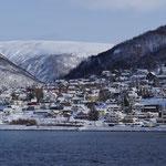 Tromsö liegt vor uns