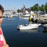 Der Hafen von Sandhamn.