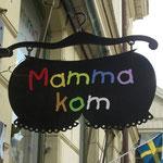 Ein Kinderkleider Laden.