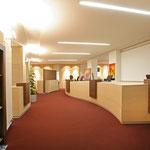 Stadtwerke Hof Servicezentrum, HEW Energie+Wasser – Servicezentrum und Aufenthaltsraum, Gesamtumbau, komplette Gewerke, 2009