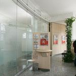 Sparkasse Kunigundendamm Bamberg, Jugendstilgebäude – Altbau, Filialeinrichtung, Kooperation mit Arch. Spotka, 2004