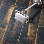 Eichendielen Vintage Loft anthrazit / schwarz