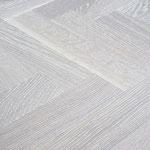 Parkett Eiche Living - Sägerau Polar White