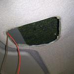 Innenbeleuchtung abgebaut, und vonn innen die Schrauben mit Unterbodenspray behandelt und damit gegen Rost geschützt