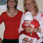 Jüngst Besucherin: Nichte Lisa-Marie