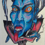 Linda Mühlbacher - Wachsmalkreiden auf Papier