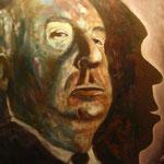 Hitchcock - E. Seemeier - Acryl auf Leinwand